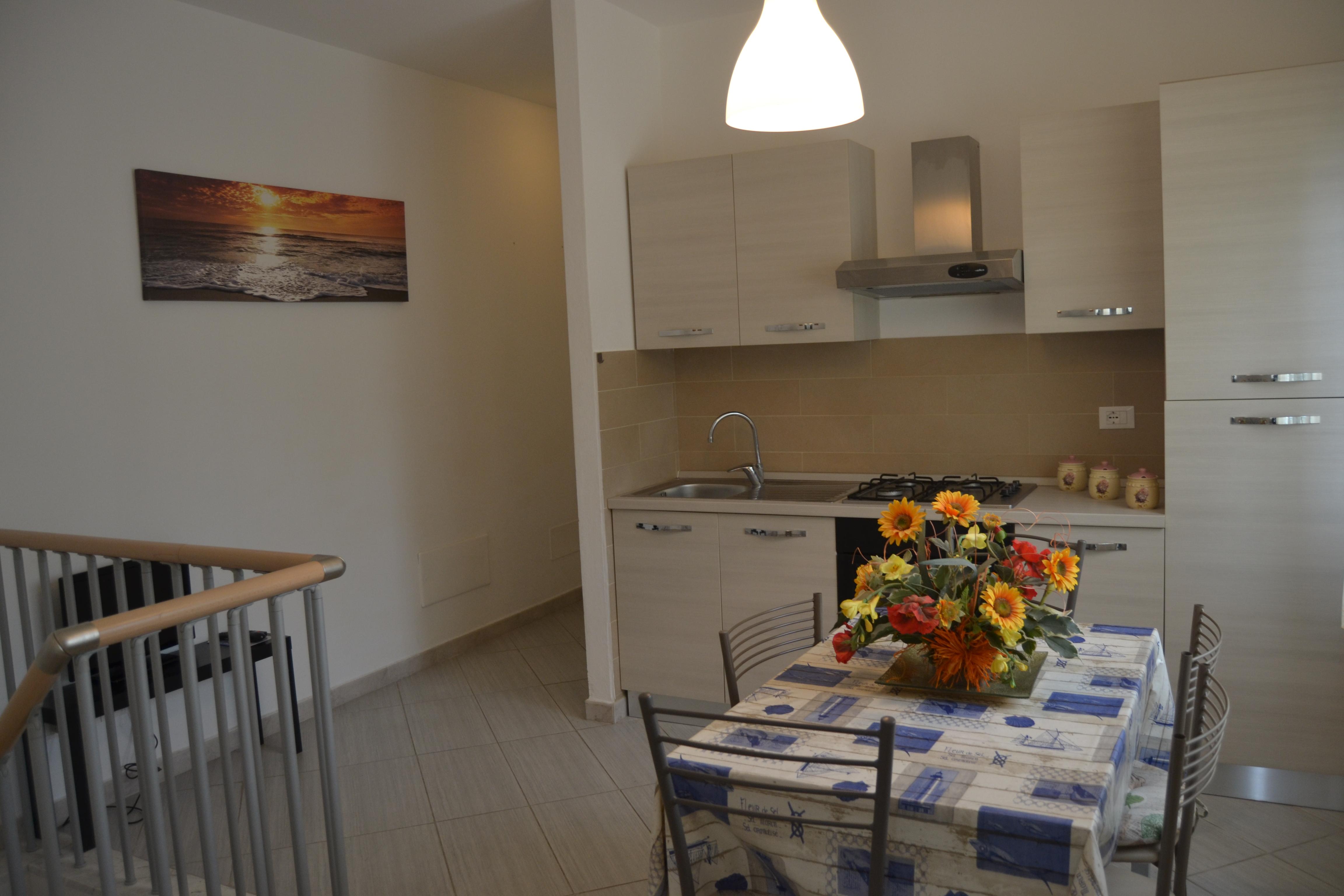 Grazioso appartamento con arredamento nuovo  Rif.A.59